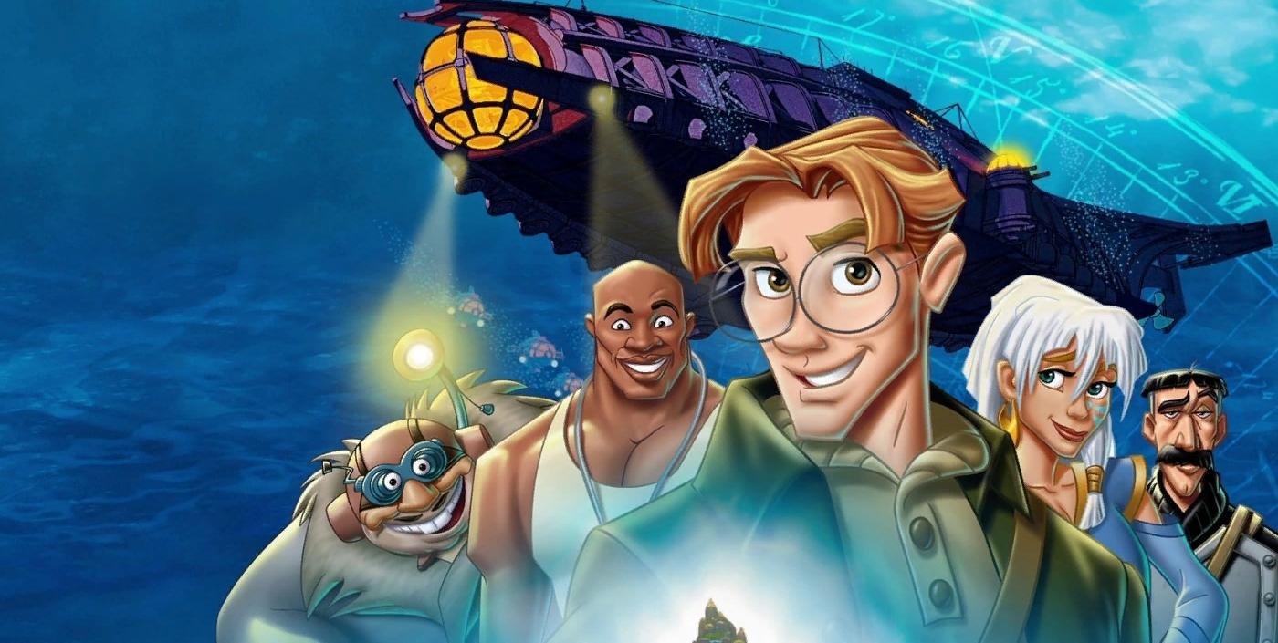 Disney взялись за Атлантиду