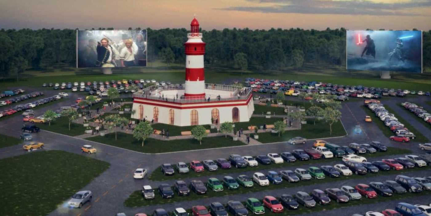 Флорида скоро станет домом для самого большого в мире автокинотеатра